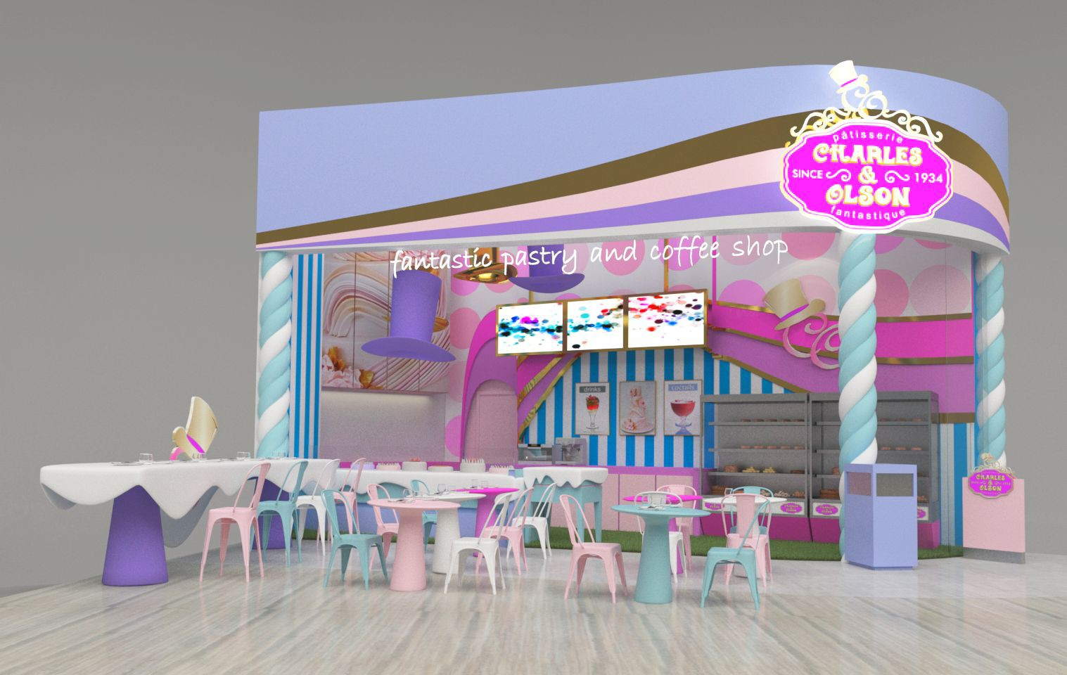 Guaranteed contest: Redesign our high quality french pastry shop!