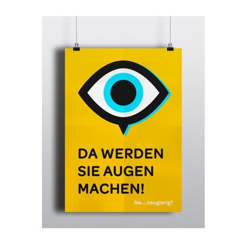 Eyecatcher-Plakat