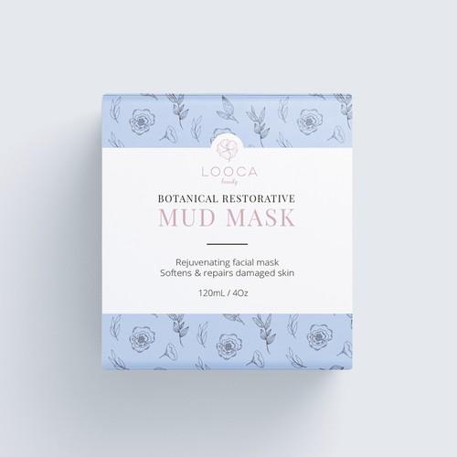 Winner product packaging design for Looca Beauty
