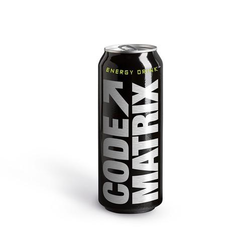 ENERGY DRINK . Code Matrix