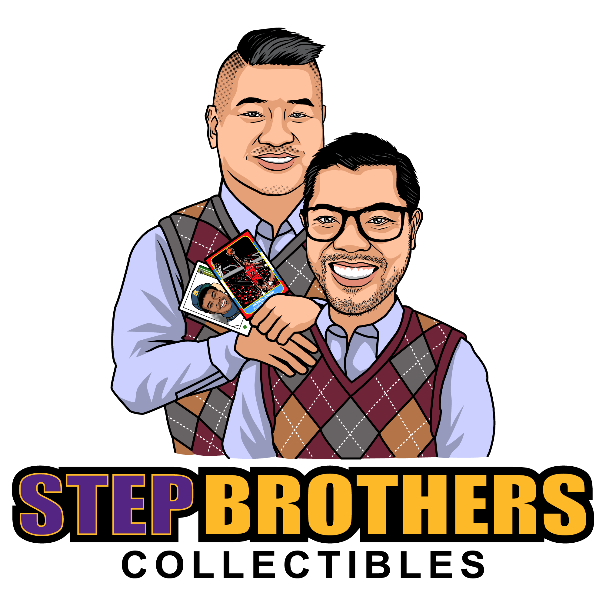 Win the chance to draw a logo caricature of the movie Step Brothers!