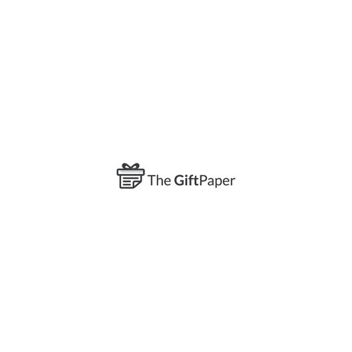 Logo concept for Gift paper