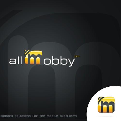Logo design for a MOBILE SOLUTIONS company