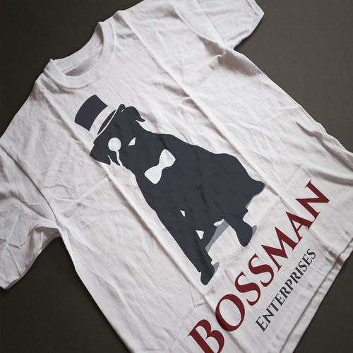 Mockup for Bossman Enterprises