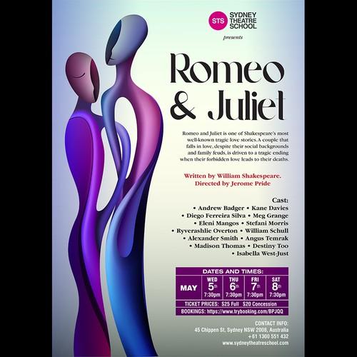Sydney Theatre School - Romeo & Juliet Poster