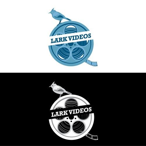 Create the next logo for Lark Videos