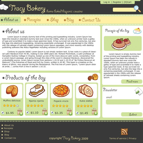 Bakery Template