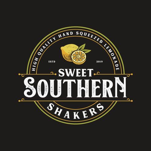 Logo design for squeezed lemonade business