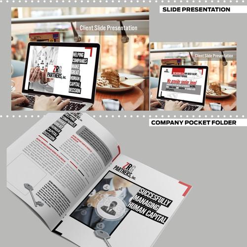 Presentation, Binder Cover, Tabs, Seal