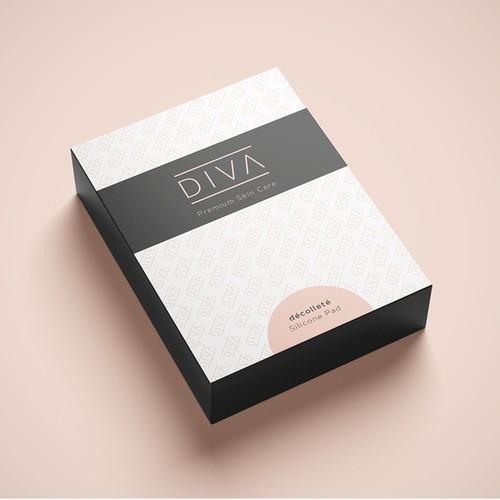 Packaging-Design: DIVA Premium Skin Care