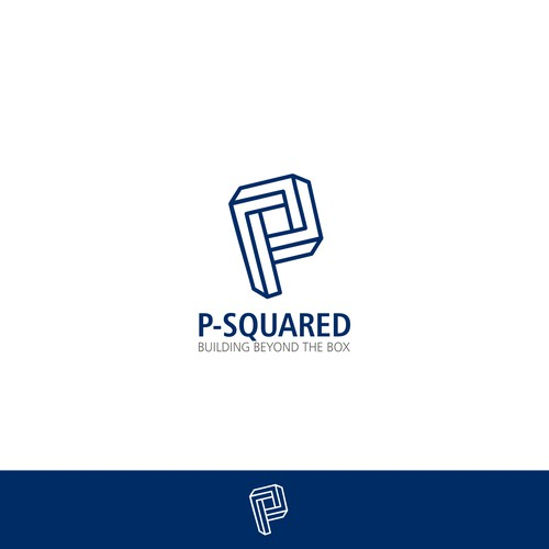 In contest Design a cool, hip, driven logo for the real estate developers, P-Squared