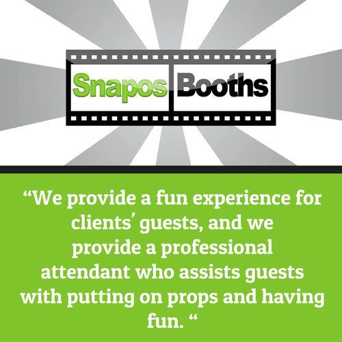Snapos Booths Email Design