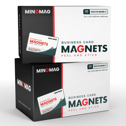Packaging for MINOMAG (Business card magnets)
