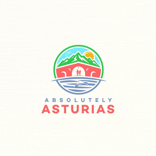 illustration beauty of Asturias