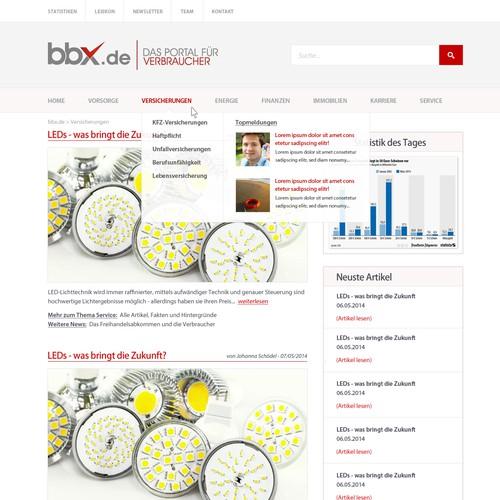 bbx.de - new design
