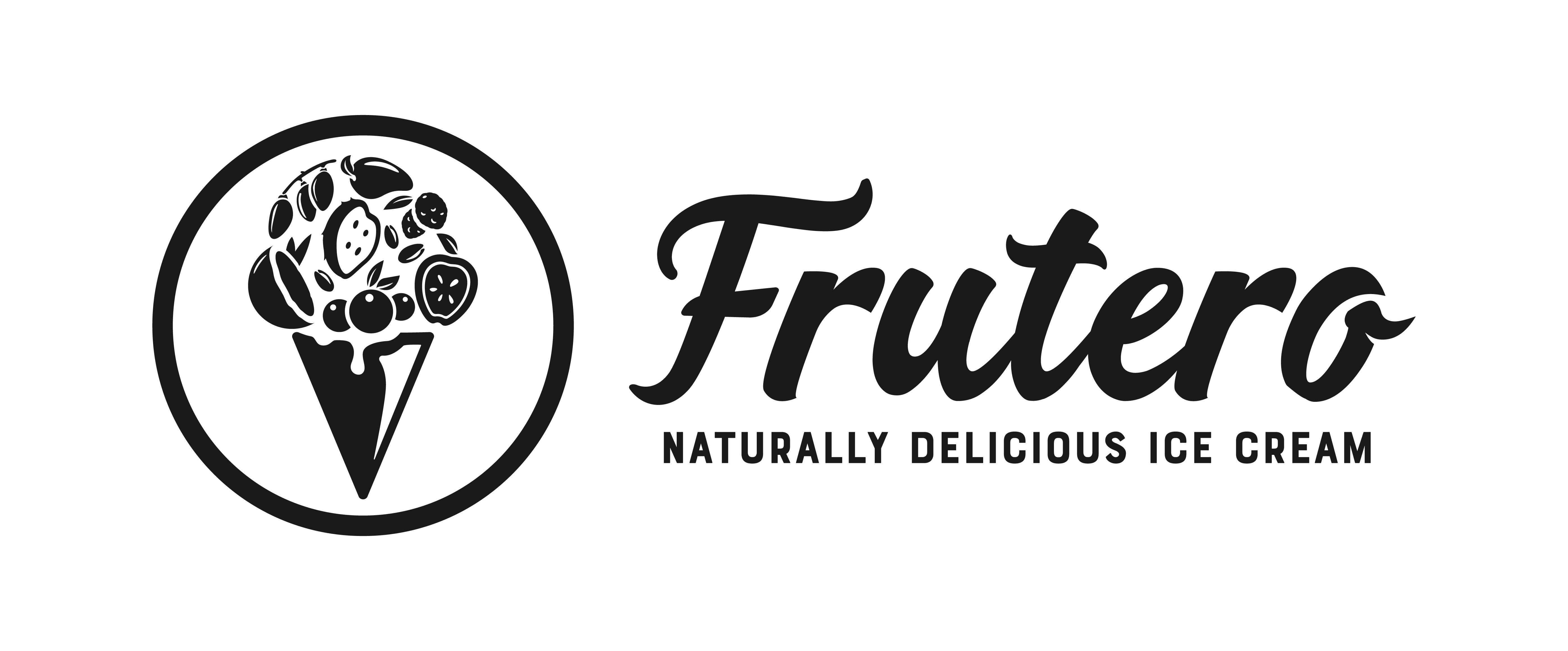Logo for Frutero Natural Ice Cream (Naturally Delicious Ice Cream)