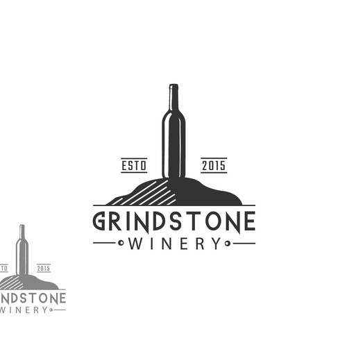 Create Logo/ Wine label for a small winery located on an island in the 1000 Islands/upstate NY