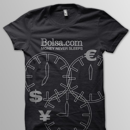 T-Shirt for the Social Network Bolsa.com