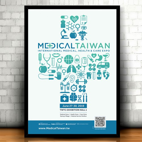 Medical trade-show event Poster