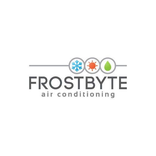 logo for Frostbyte air conditioning
