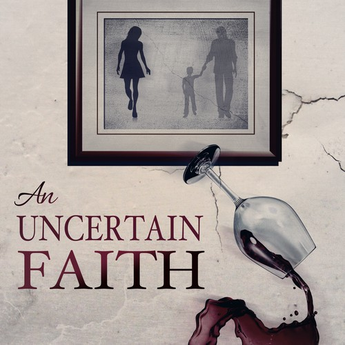 Create a simple and yet meaningful ebook cover for An Uncertain Faith