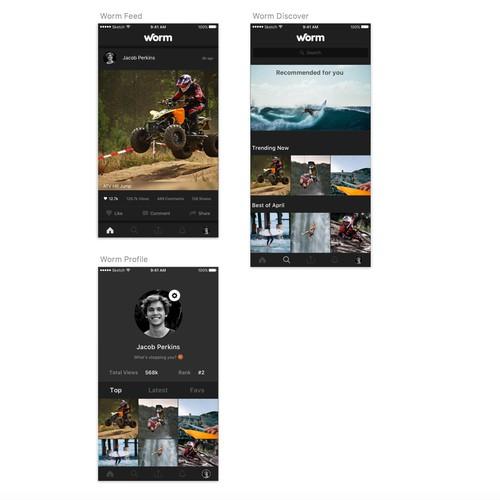 Action Video App