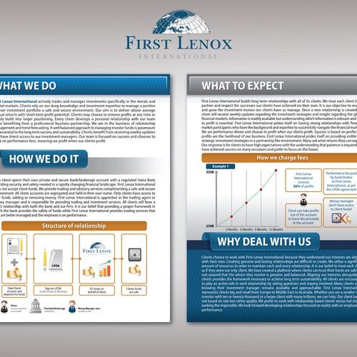 FLI Brochure Design