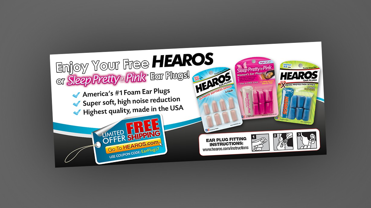 """Create A Fun """"Mailing Insert"""" For HEAROS.com (3-Day Contest)"""