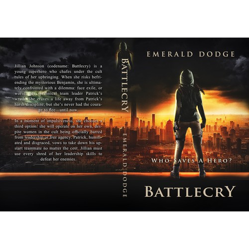 Battlecry book cover