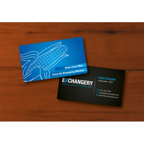 Business Card for Exchangery