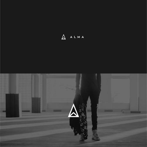 A L M A  Logo Design