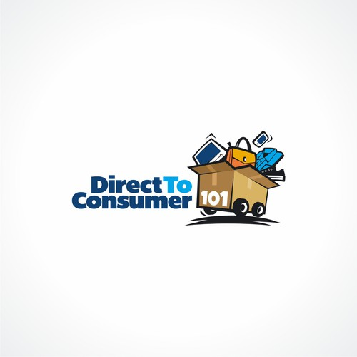 Fun Logo for Direct To Consumer 101
