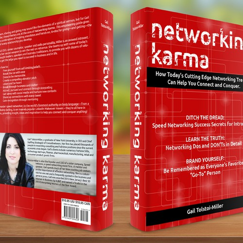 Help Gail Miller, CEO of Consultnetworx/Speednetworx,  with a new book or magazine cover