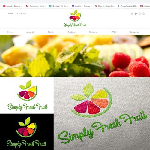 "Logo for ""Simply Fresh Food"""
