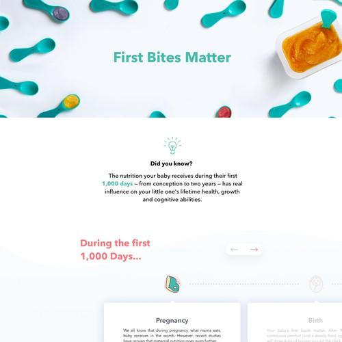 First bites matter