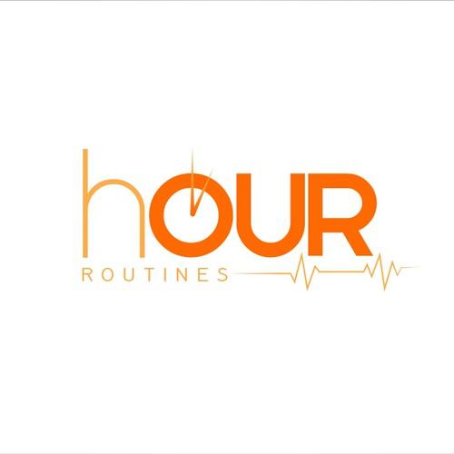Logo concept for fitness club