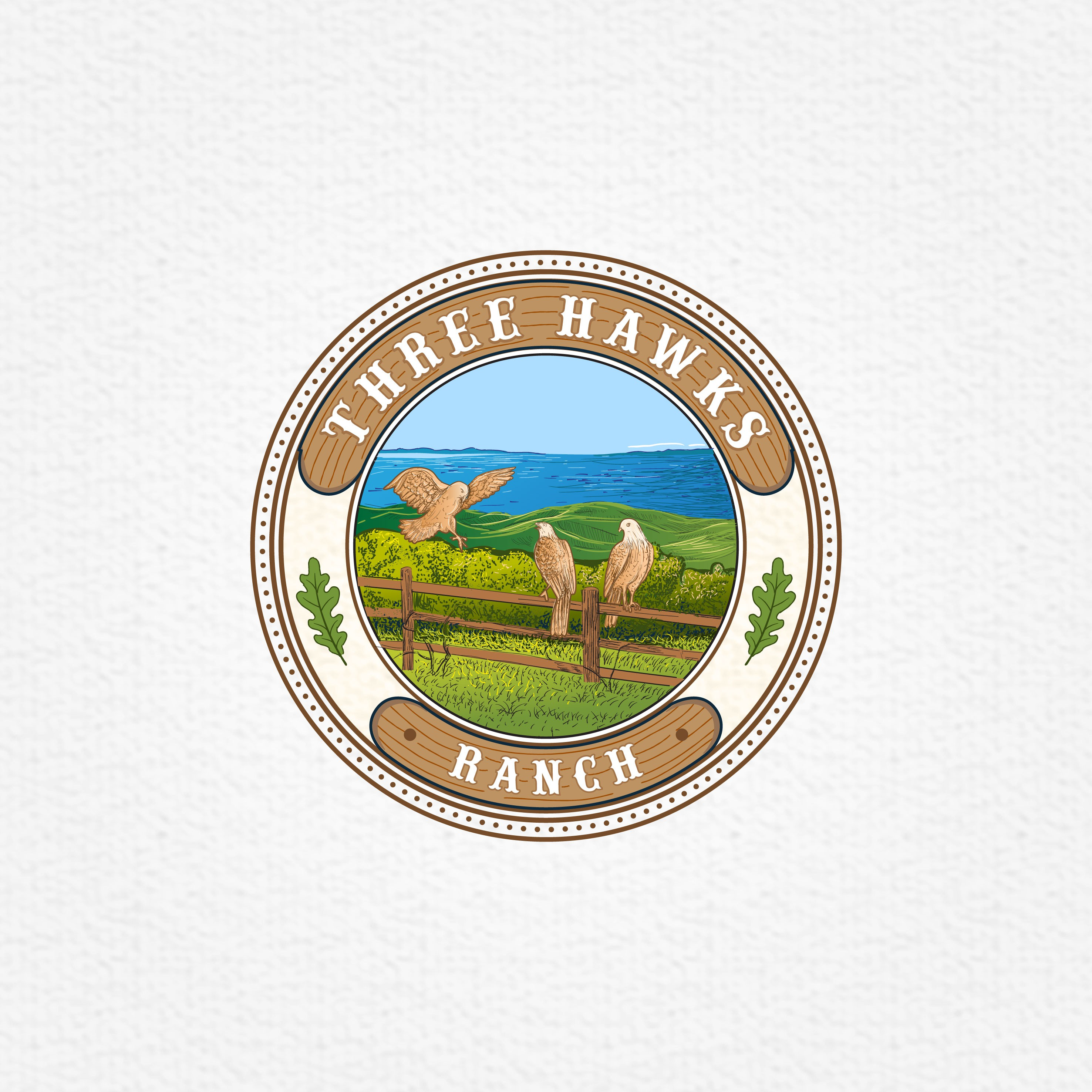 Three Hawks Ranch, my three daughters' favorite place, needs a gorgeous logo!