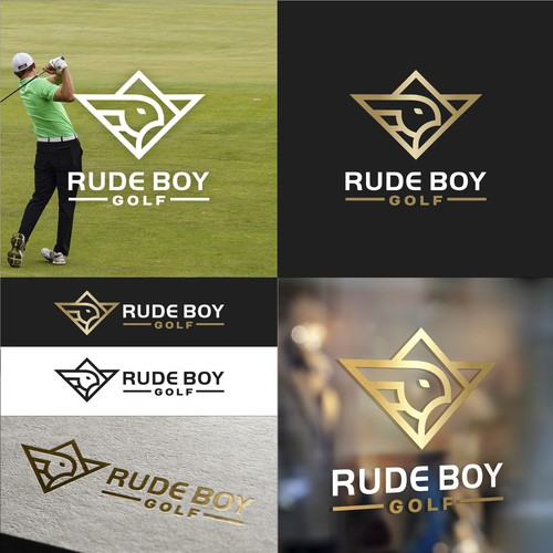 Logo Concept For Rude Boy Golf Apparel Brand