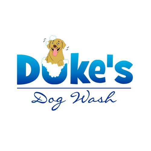 logo for Duke's Dog Wash