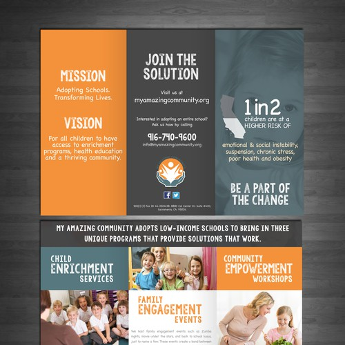 My amazing community brochure