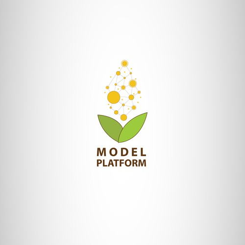 Logo for bio-tech company.