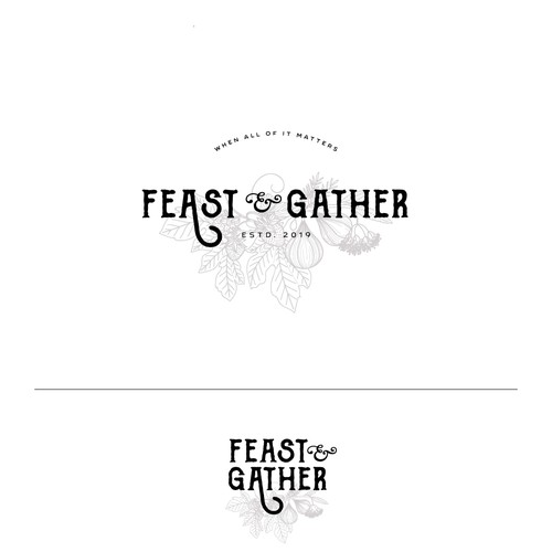 Logo for Feast and Gather