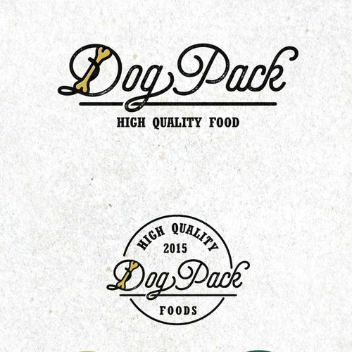 DogPack dog's food logo