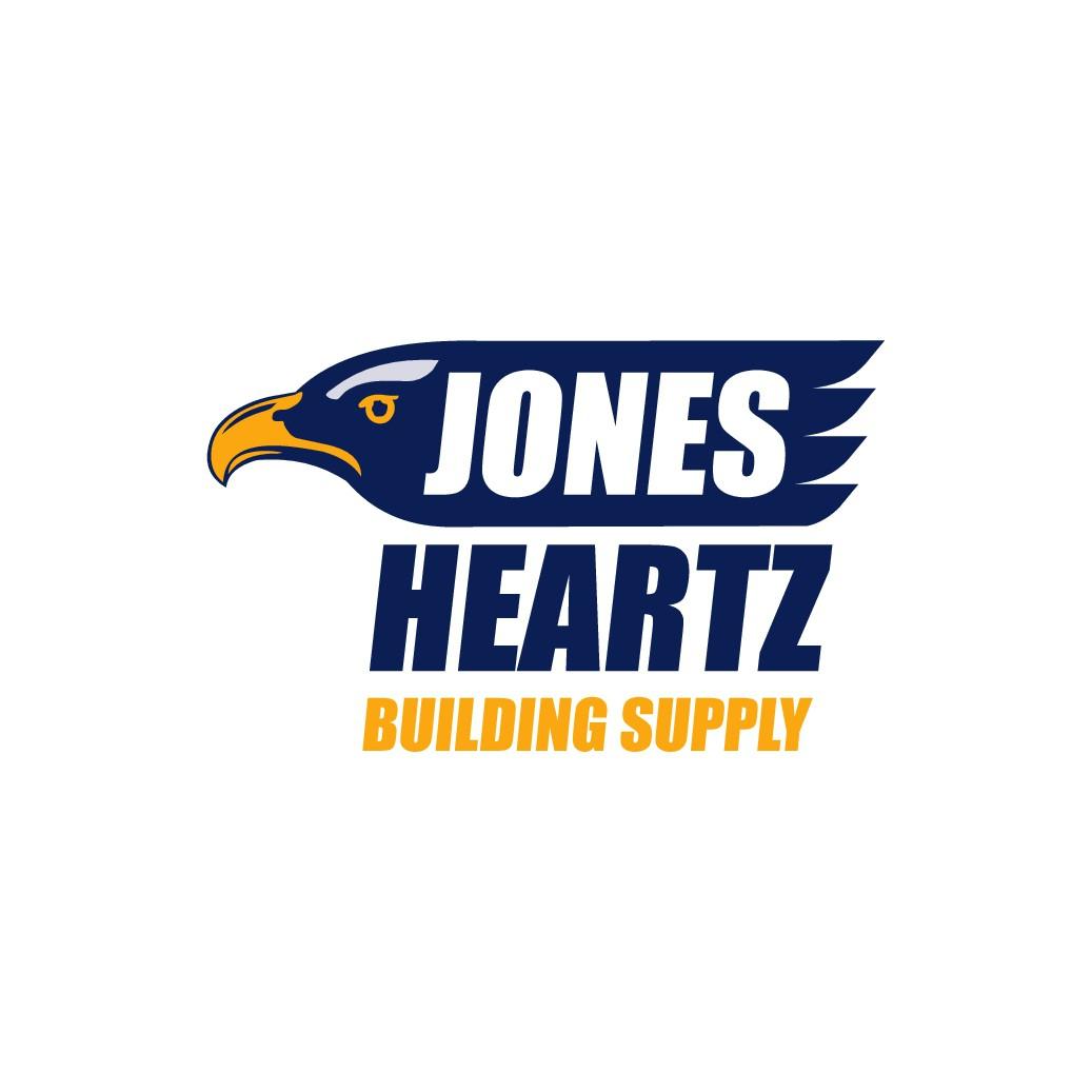 Jones Heartz logo: Stacked