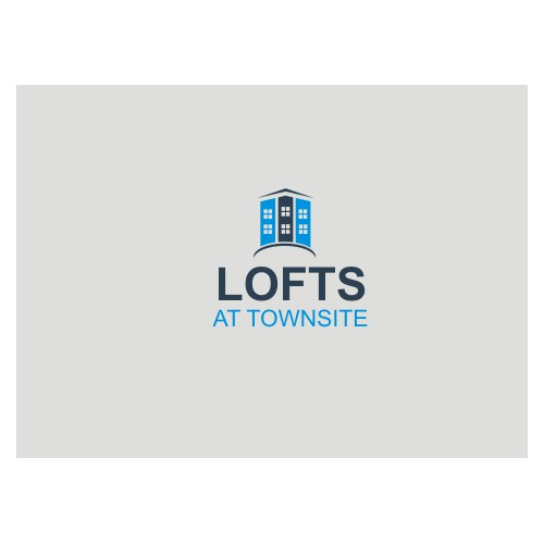 Create a logo for modern loft-apartments in a historic building.