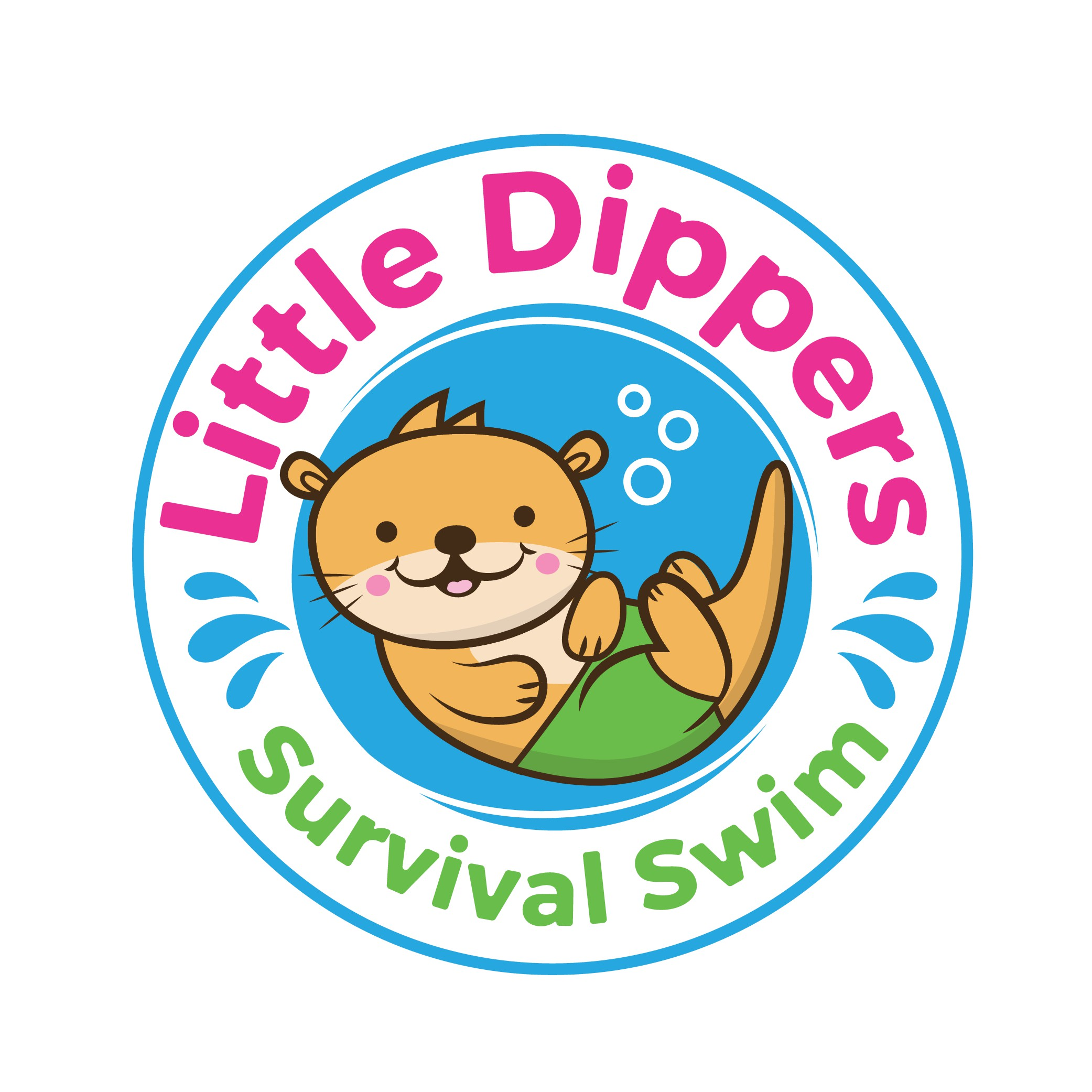 friendly, happy, family-orented swim school teaching babies to survive a fall in the water
