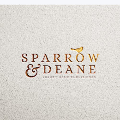 Create a simple, stylish and sophisticated logo for a luxury home interior store.