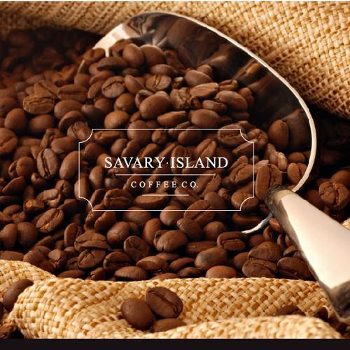 Create the next logo for Savary Island Coffee Co.