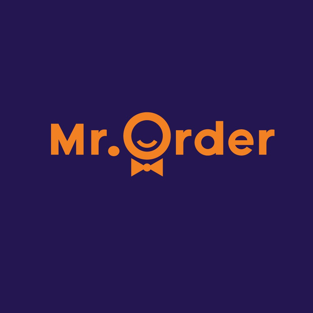 Build a brand for Mr. Order to make people feel hungry
