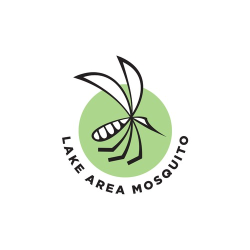 Logo concept for a mosquito control company